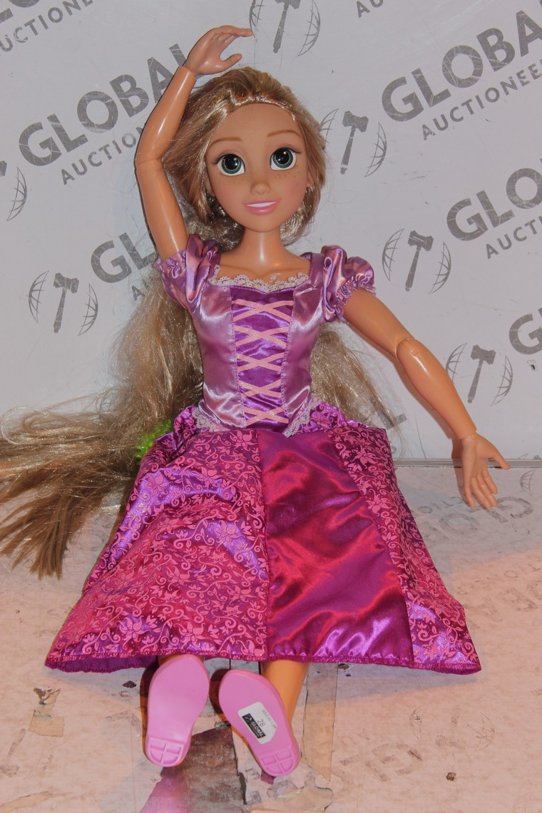 Lot 28 - Children's Blonde Hair Princess Doll (Public Viewing and Appraisals Available)