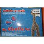 Boxed 6ft Tall My Giraffe Giant Inflatable Pal RRP £35 (Public Viewing and Appraisals Available)