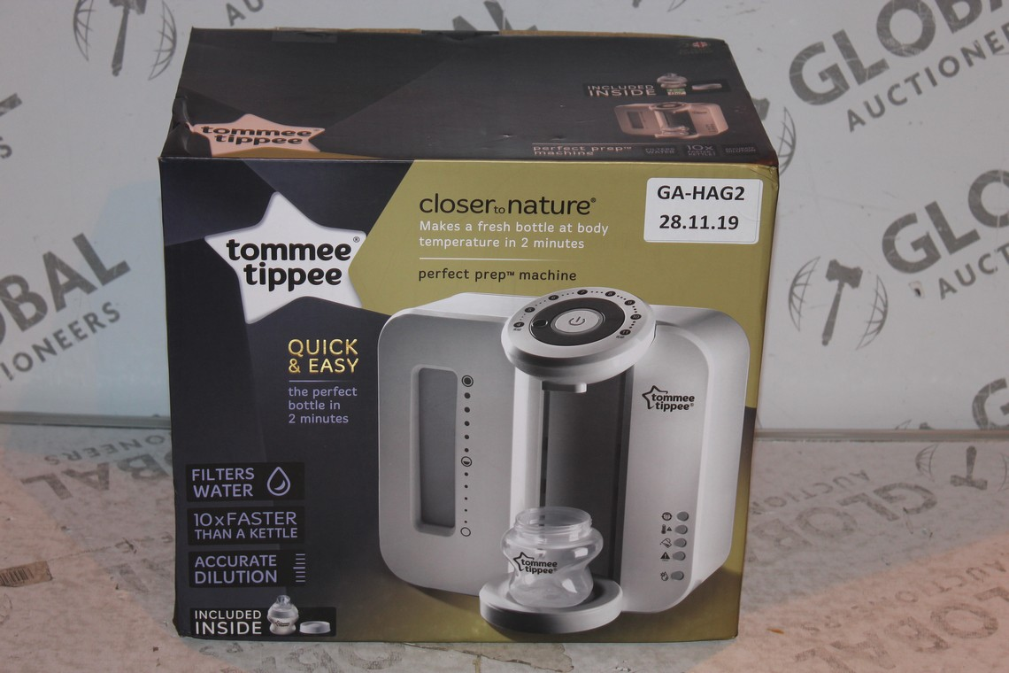 Lot 25 - Boxed Tommee Tippee Perfect Prep Machine in White RRP £85 (Public Viewing and Appraisals Available)