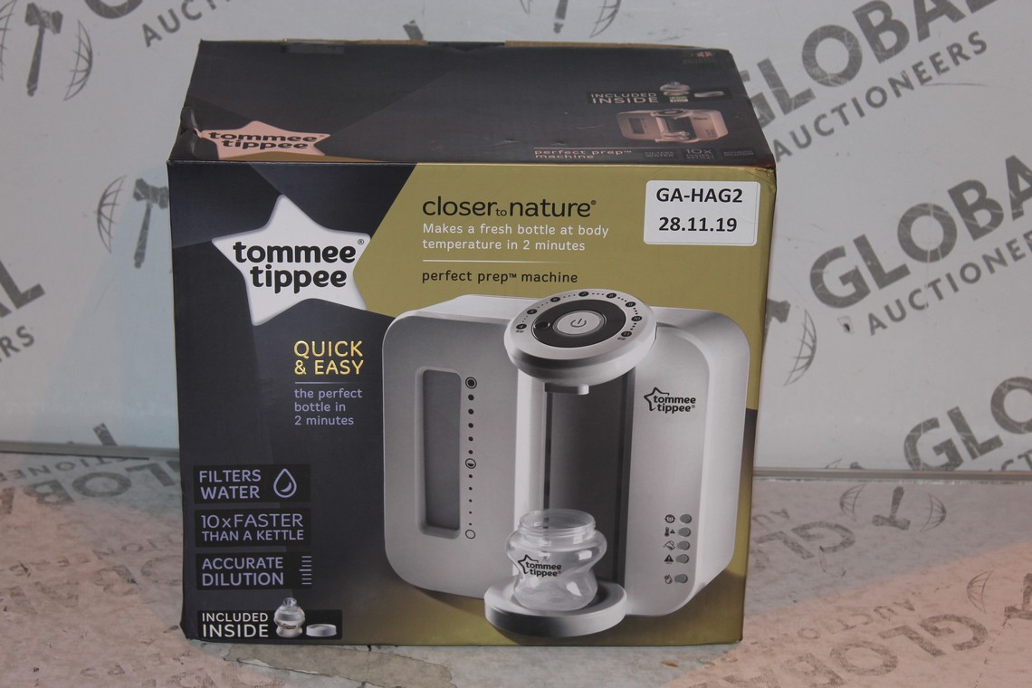 Lot 22 - Boxed Tommee Tippee Perfect Prep Machine in White RRP £85 (Public Viewing and Appraisals Available)