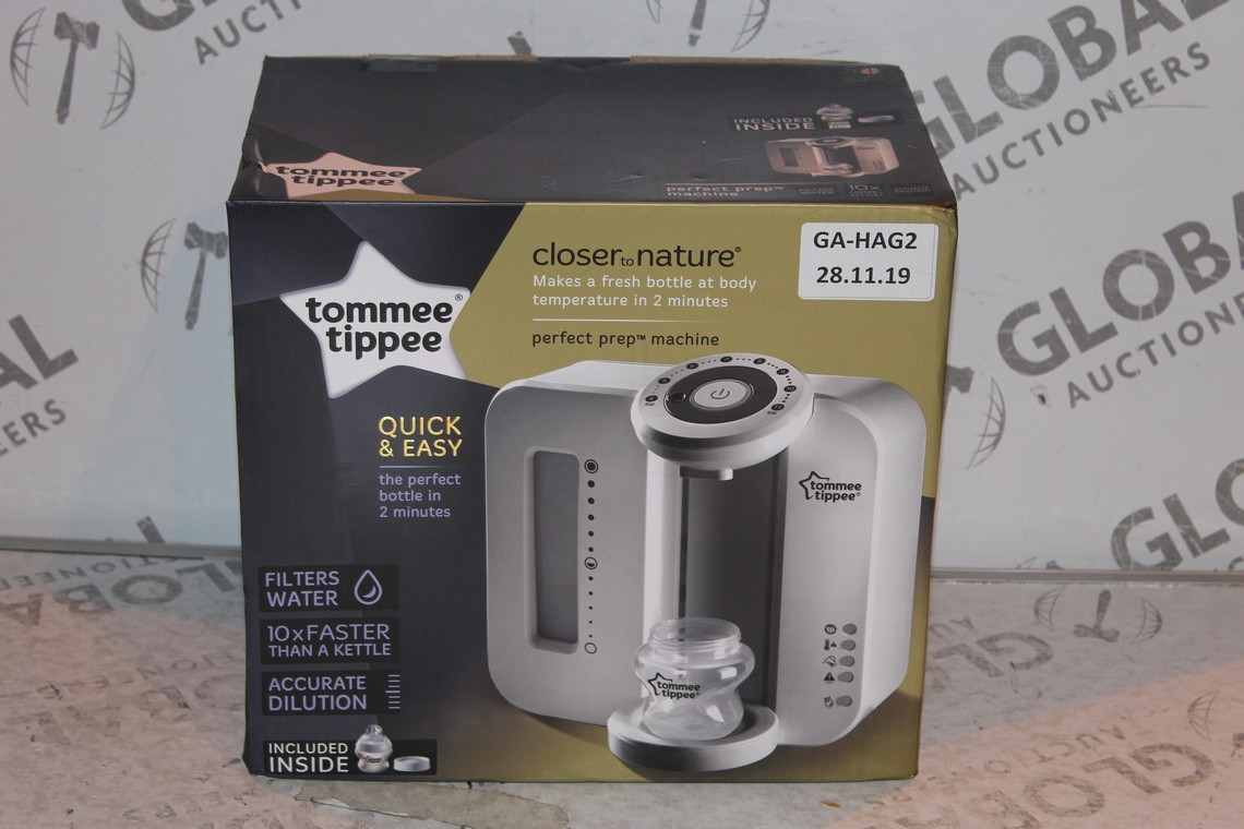 Lot 21 - Boxed Tommee Tippee Perfect Prep Machine in White RRP £85 (Public Viewing and Appraisals Available)