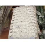 5 x various reels of Braid Materials new see image