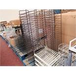 Large amount of various Shelving, Racks for Crafting Papers, Cards, Arms etc see image