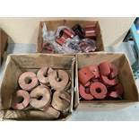 Rubber and Wood Guide Blocks for Feed Tubes Industrial Machinery