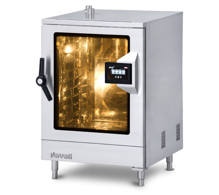 Lot 42 - *Combi Oven/Steamer, electric, with steam generator, (10) 1/1 GN capacity, touch screen controls wit