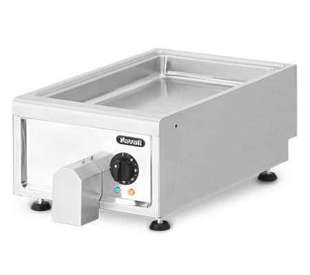 Lot 46 - *Amicus 600 Griddle Pan, electric, countertop, 1/1 GN pan capacity, manual controls, 50°C-300°C temp