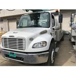 2011 Freightliner Business Class M2 S/A Bucket/Crane Truck,