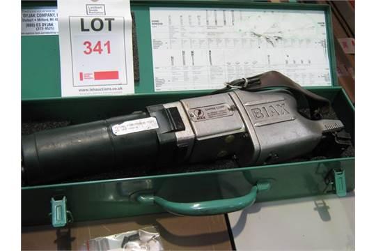 Biax scraper 110volt type 7ELM