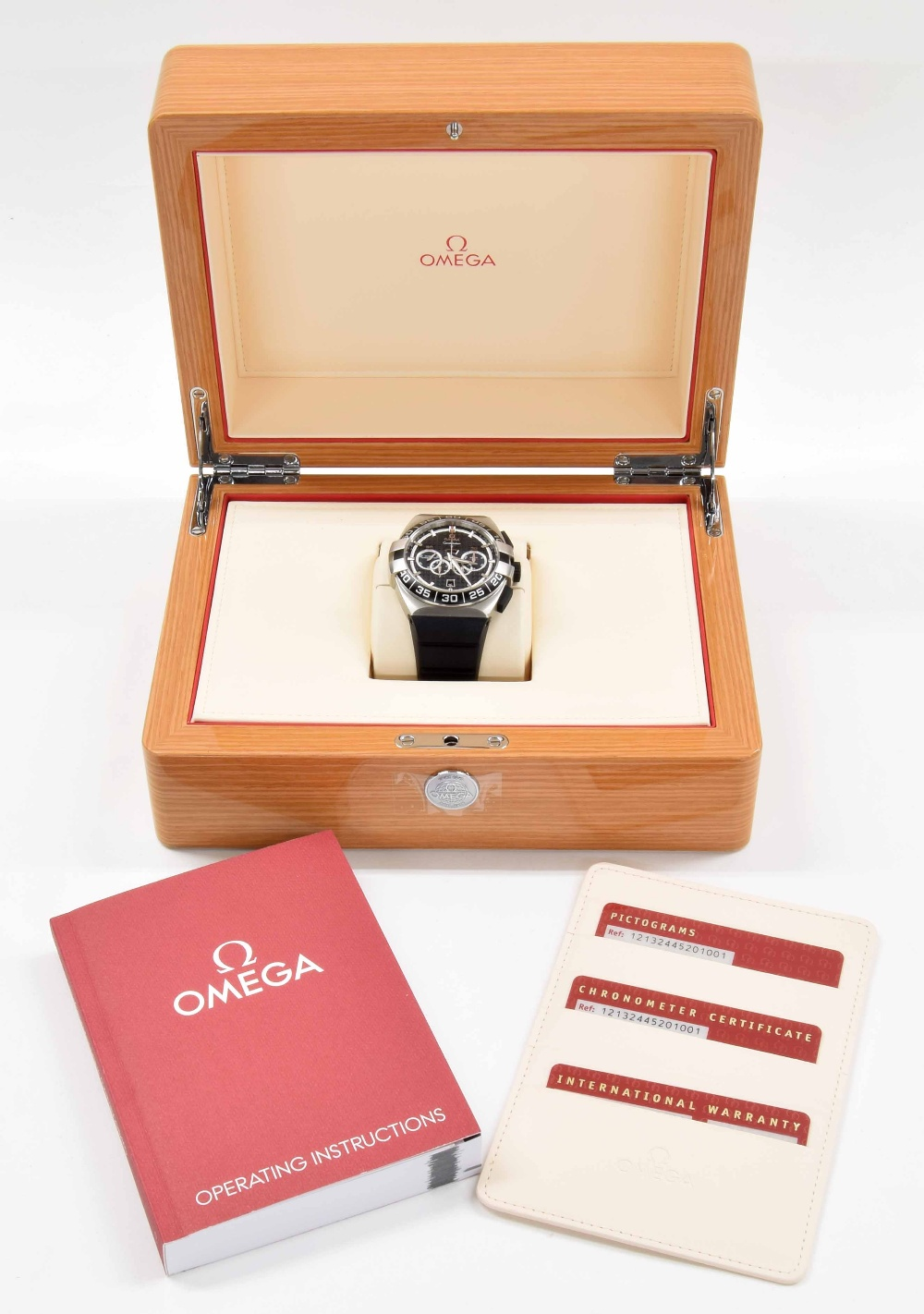 Lot 20 - Omega Constellation Double Eagle Co-Axial stainless steel gentleman's wristwatch, ref.
