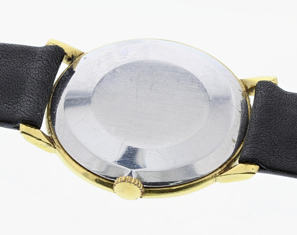 Lot 24 - Omega gold plated and stainless steel gentleman's wristwatch, ref. 111.046, circa 1966, serial no.