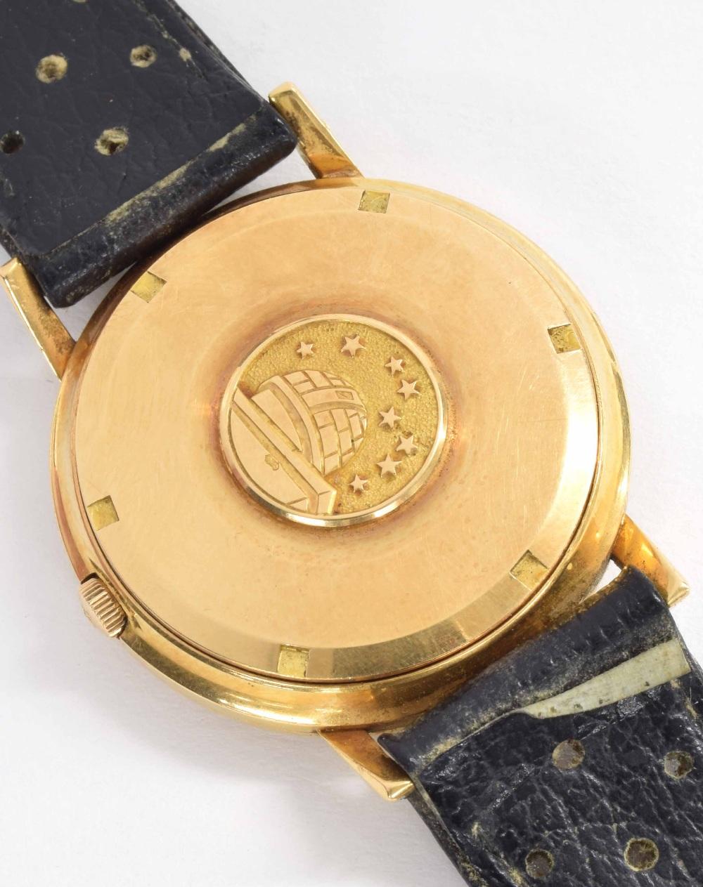 Lot 33 - Omega Constellation Chronometer automatic 18k gentleman's wristwatch, case ref. 1683004, circa 1964,