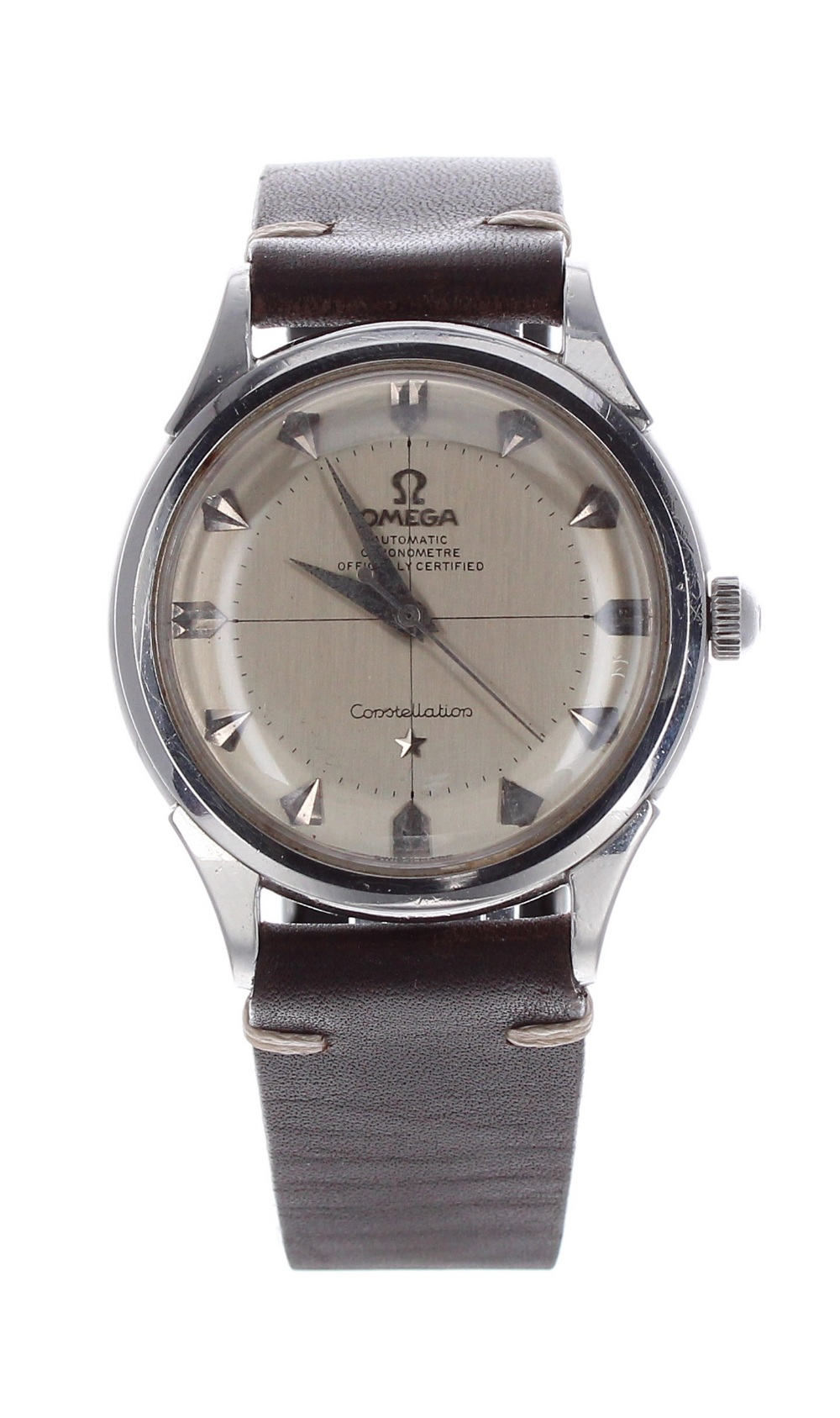 Lot 17 - Omega Constellation Chronometer automatic stainless steel gentleman's wristwatch, ref. 2852 8SC,