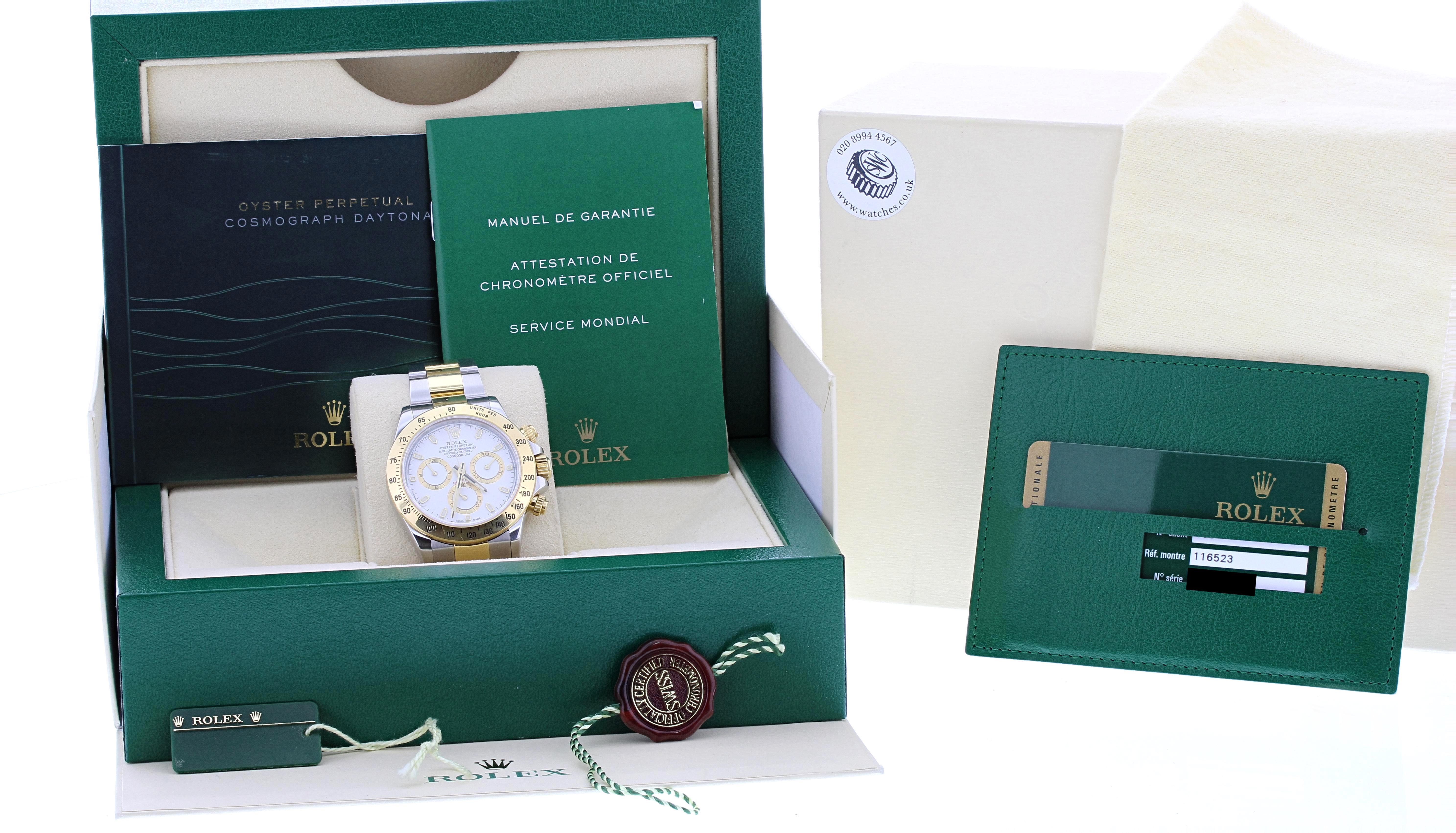 Lot 60 - Rolex Oyster Perpetual Cosmograph Daytona gold and stainless steel gentleman's bracelet watch,