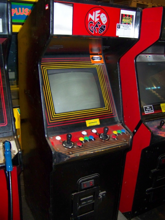 NEO GEO 1 SLOT ARCADE GAME SNK   AX