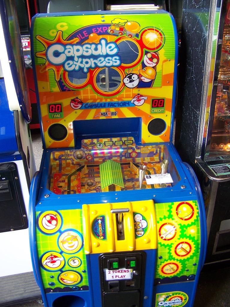 "CAPSULE EXPRESS 4"" CAPSULE PRIZE MACHINE"