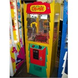 THE CHALLENGER CANDY SHOVEL CRANE MACHINE YELLOW