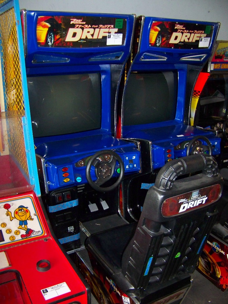 """DRIFT FAST & FURIOUS 31"""" DX RACING ARCADE GAME - Image 3 of 4"""