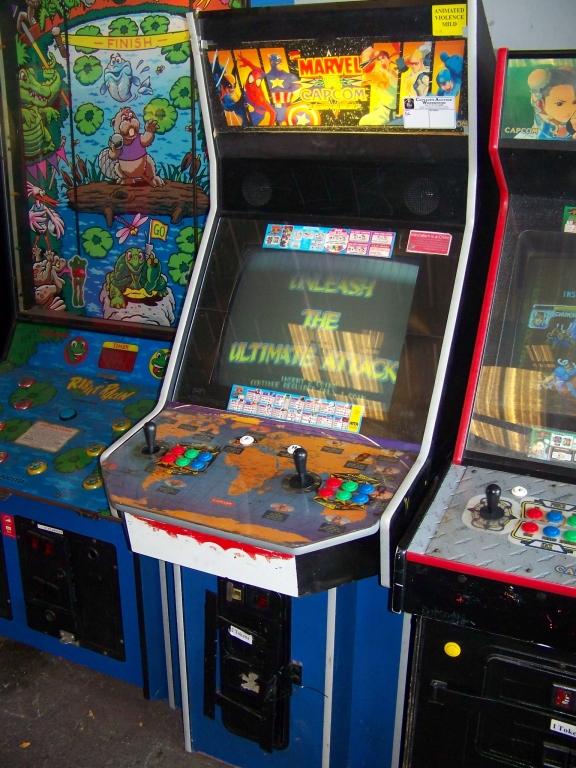 MARVEL VS. CAPCOM JAMMA ARCADE GAME Q SOUND CAB - Image 3 of 3