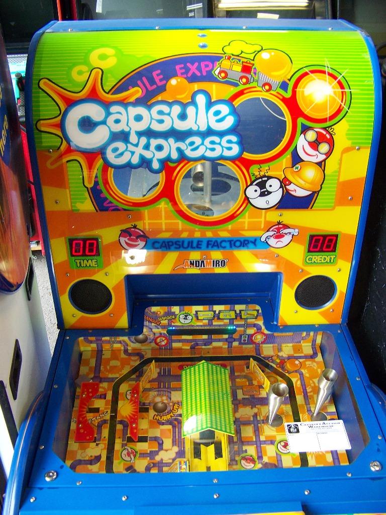"CAPSULE EXPRESS 4"" CAPSULE PRIZE MACHINE - Image 2 of 2"