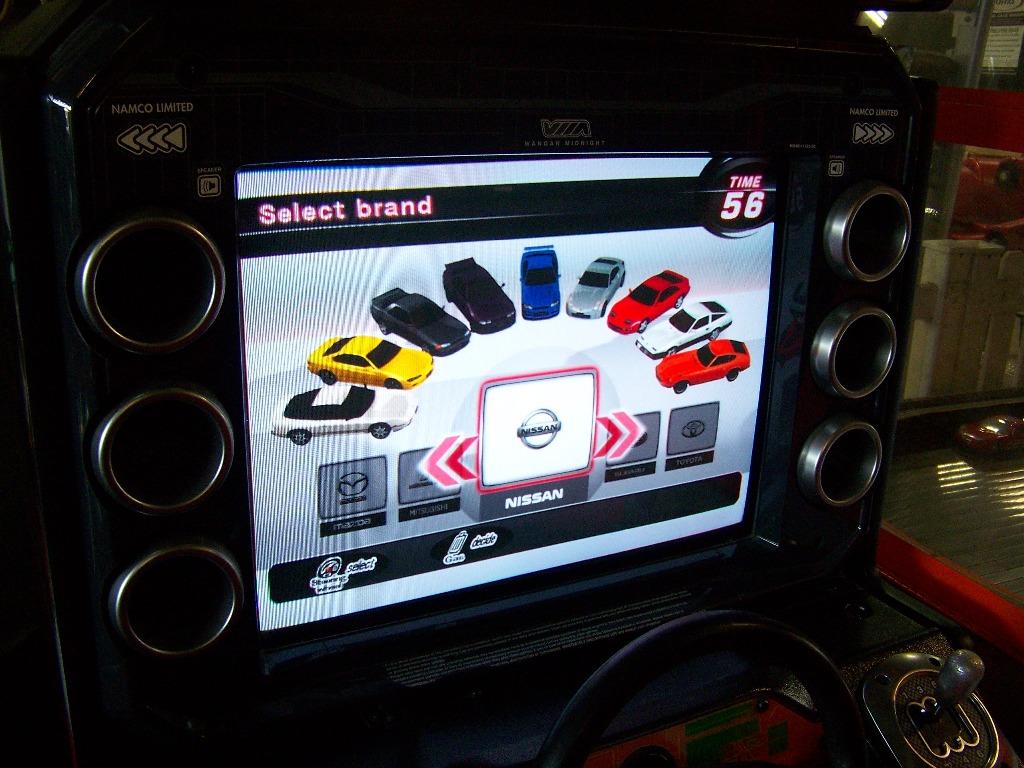 MAXIMUM TUNE 3 SITDOWN DRIVER ARCADE GAME - Image 7 of 7