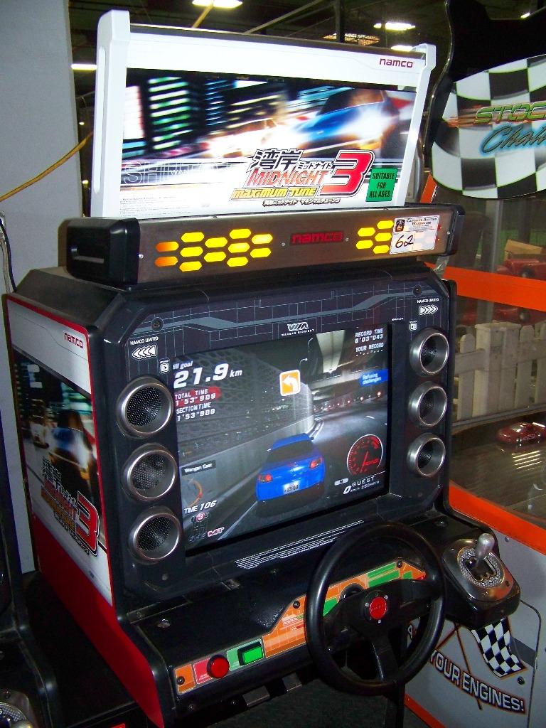 MAXIMUM TUNE 3 SITDOWN DRIVER ARCADE GAME - Image 2 of 7