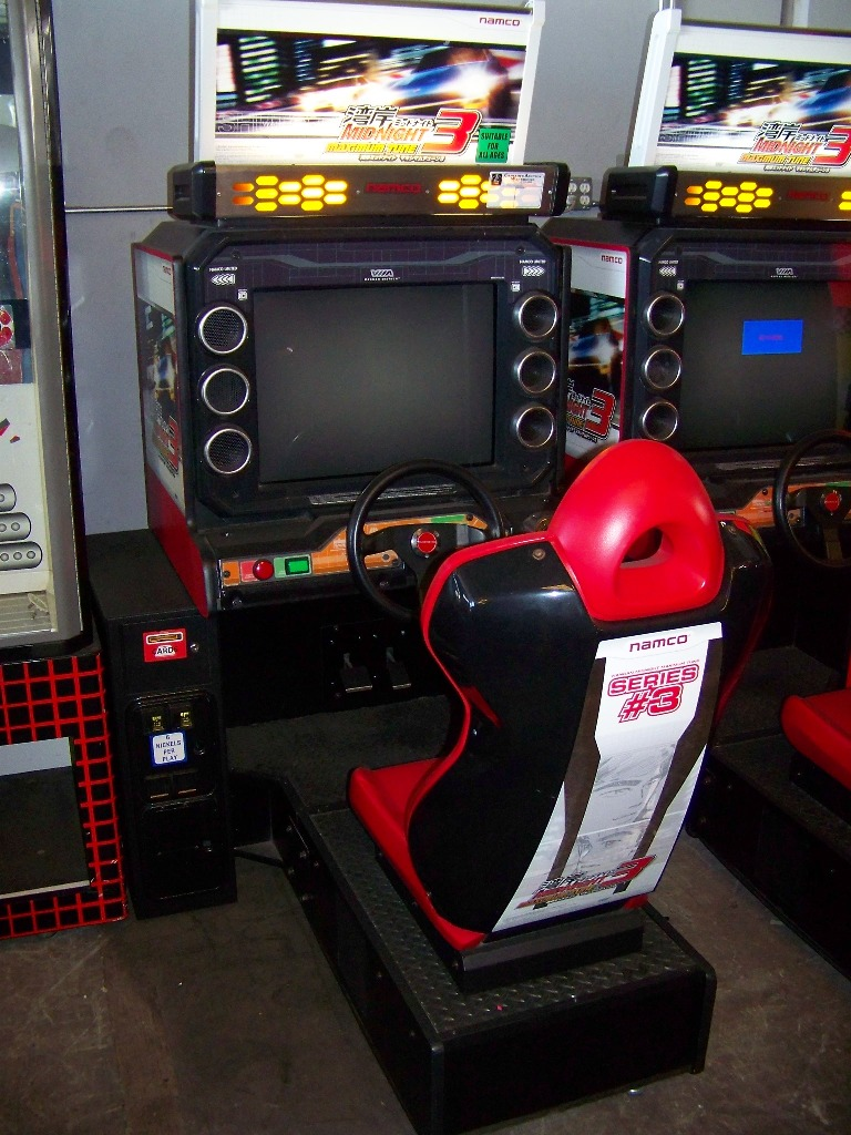 MAXIMUM TUNE 3 SITDOWN DRIVER ARCADE GAME - Image 2 of 2