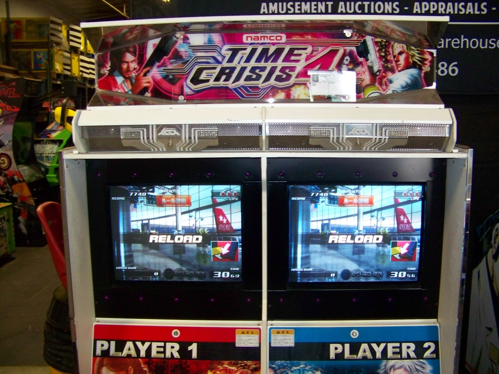 TIME CRISIS 4 TWIN SHOOTER ARCADE GAME NAMCO - Image 3 of 5