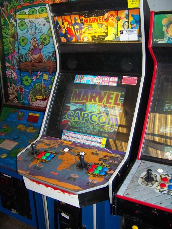 MARVEL VS. CAPCOM JAMMA ARCADE GAME Q SOUND CAB