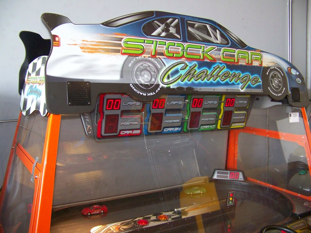 STOCK CAR CHALLENGE TICKET REDEMPTION GAME - Image 3 of 6