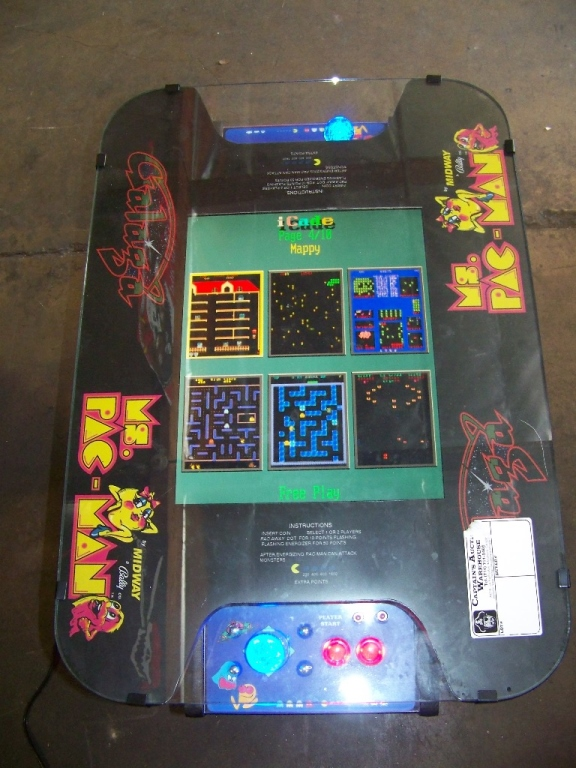 Check pictures for details. NOTE: NEW CABINET. LCD MONITOR 60 CLASSIC GAMES IN 1 LIGHTED JOY - Image 2 of 4