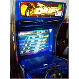 "DRIFT FAST & FURIOUS 31"" DX RACING ARCADE GAME"