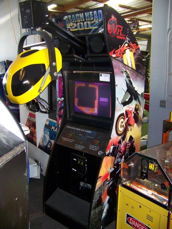BEACH HEAD 2002 2003 GLOBAL VR ARCADE GAME   A