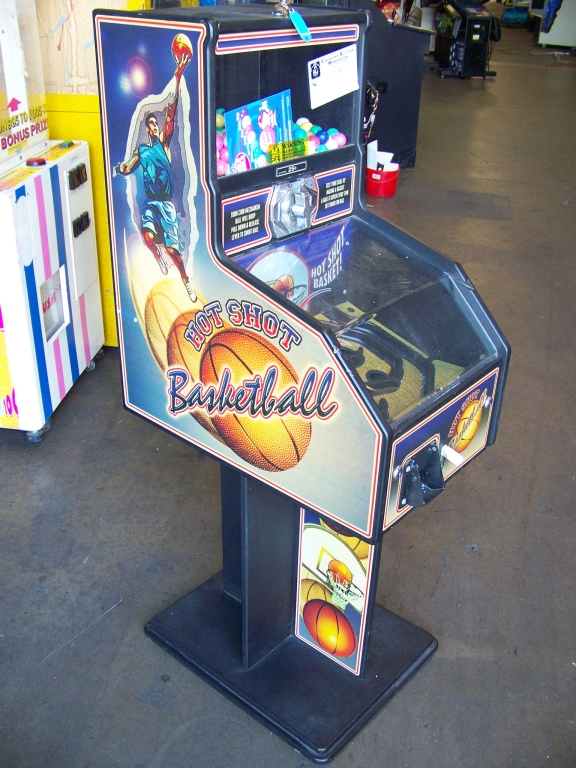HOT SHOT BASKETBALL BULK VENDING PRIZE GAME