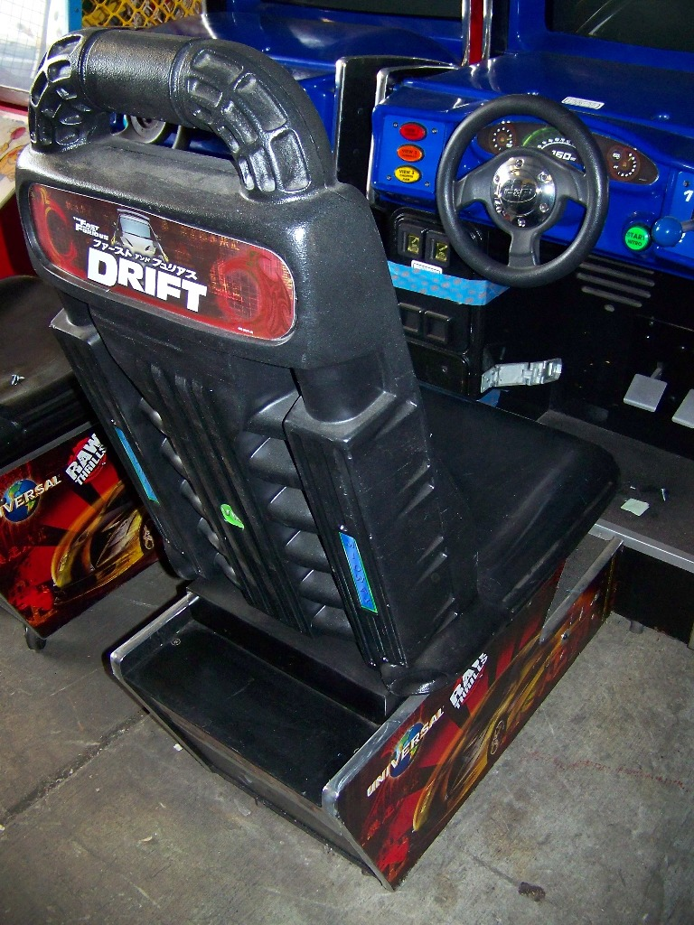 "DRIFT FAST & FURIOUS 31"" DX RACING ARCADE GAME - Image 4 of 5"