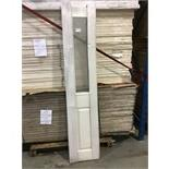 Lot 201 - M50W30 35mm Bi-Fold Oakfield 4 Panel Door x 1