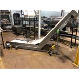"MAC 26"" x 11' Cleated Belt Conveyor"