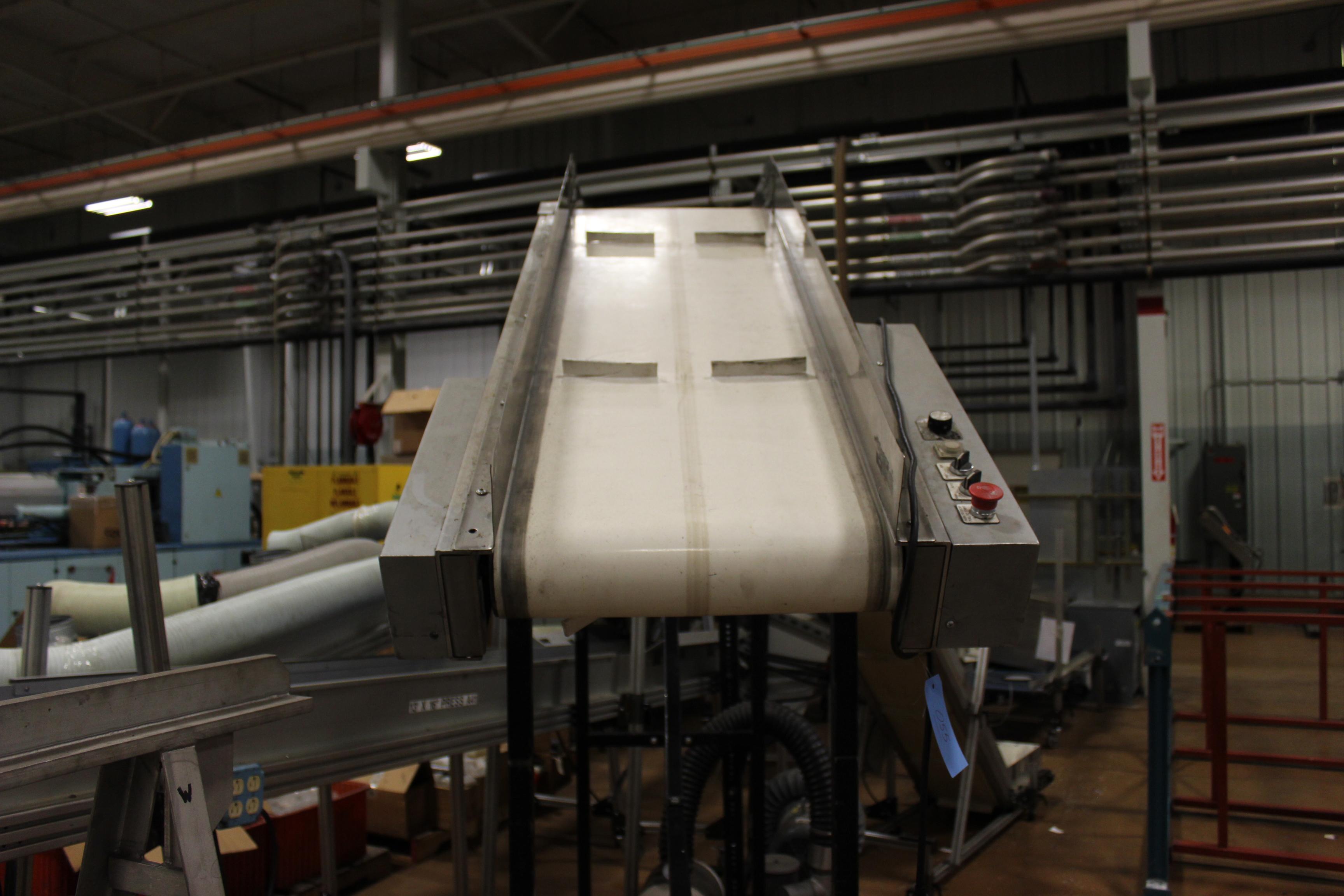"LaRos 17"" x 12' Belt Conveyor - Image 2 of 2"