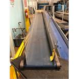"HFA 14"" x 15' Cleated Belt Conveyor"