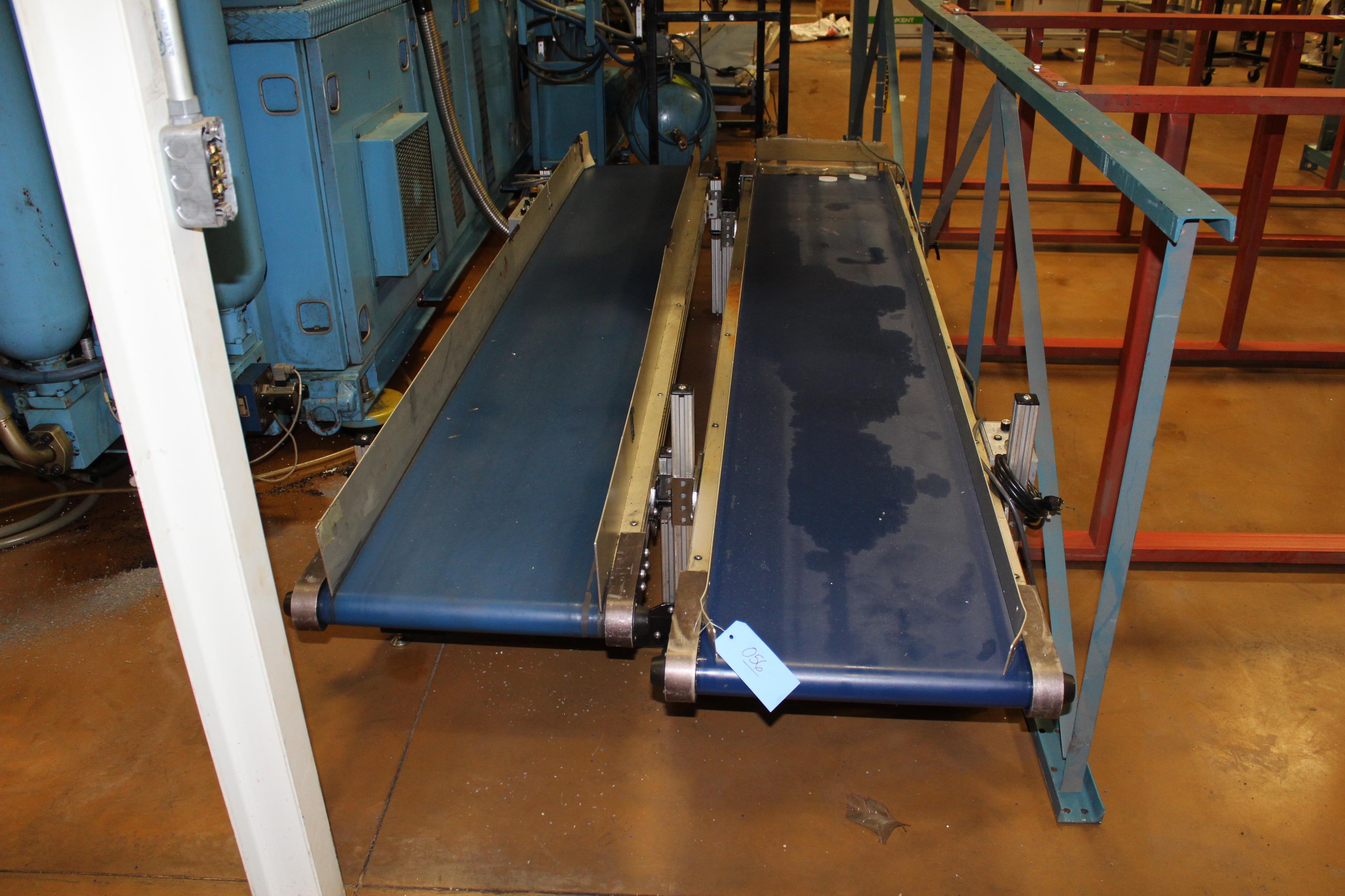 "(Lot of 3) HFA 17"" x 9' Belt Conveyor - Image 2 of 2"