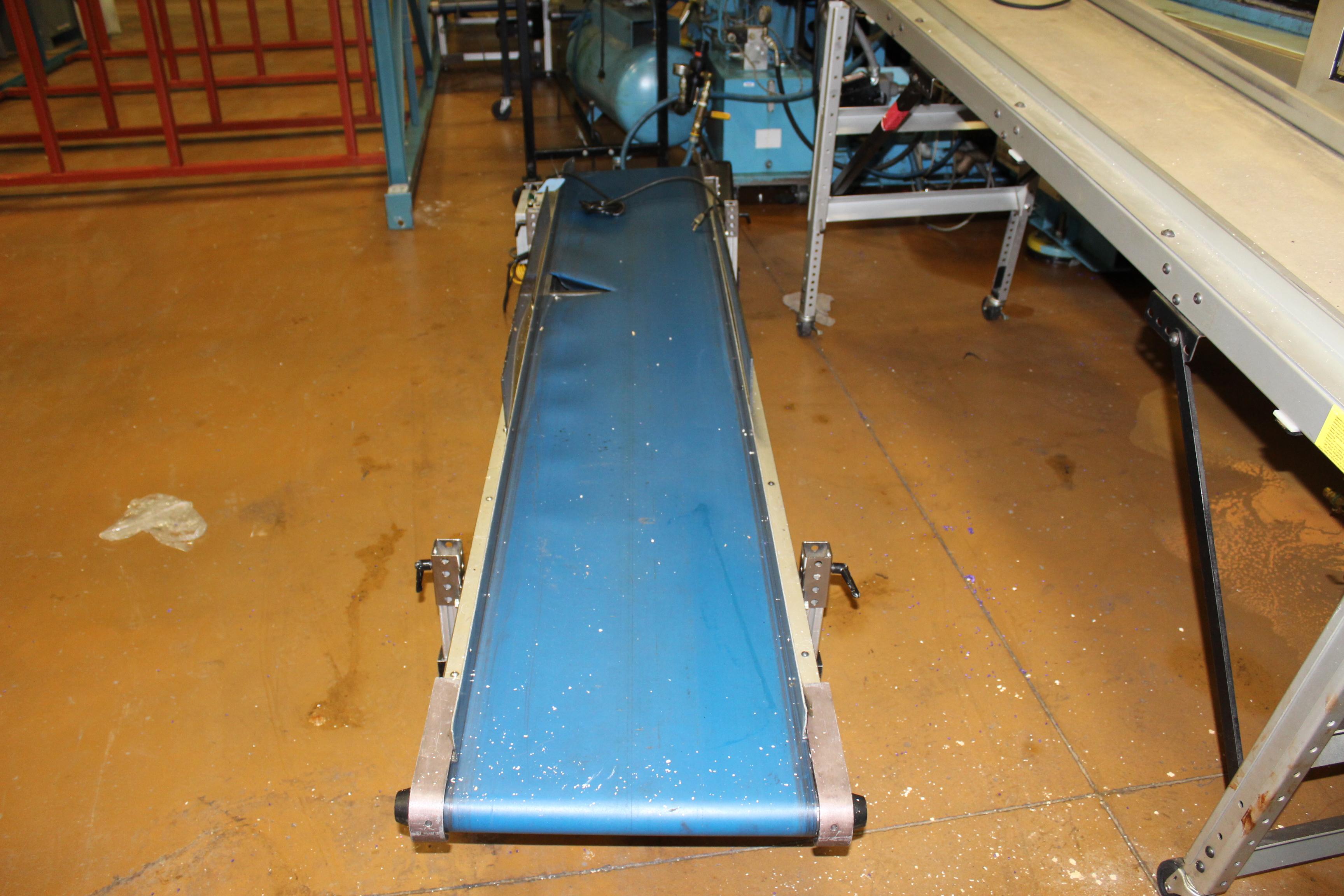 "(Lot of 3) HFA 17"" x 9' Belt Conveyor"