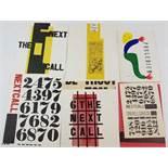 (Boeken) (Kunst) Jan Martinet, H. N. Werkman - The Next Call (1978)Jan Martinet - The Next Call.