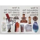 (Boeken) (Kunst) Ron Zeegers e.a. (red.) - Wat is Art Nouveau en Art Deco waard (2dl.)Rob Zeegers