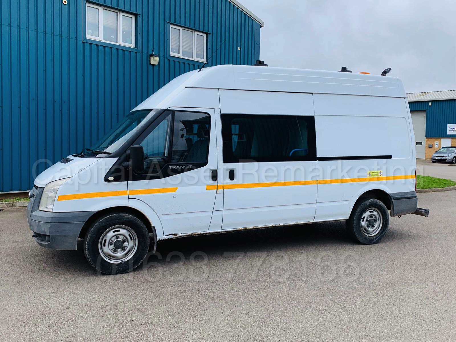 Lot 29 - (On Sale) FORD TRANSIT T350L *MESSING UNIT/CREW VAN* (58 REG) '2.4 TDCI-6 SPEED' *ON-BOARD TOILET*
