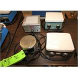 Assorted Stirrer / Hot Plates Includes (2) Corning PC 351 Thomas Magne - Magnet Stirrer & Thermolyne