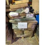 1 x Pallet of Mixed Stock/Stationery Including Task Lamps, Coat Stands, Clip Frames, Square Cut