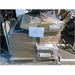 1 x Pallet of Mixed Stock/Stationery Including Hand Scanner, Envelopes, Box Files, Jiffy bags,