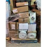 1 x Pallet of Mixed Stock/Stationery Including Water Boilers, Desk Fans, Water Dispensers, Paper