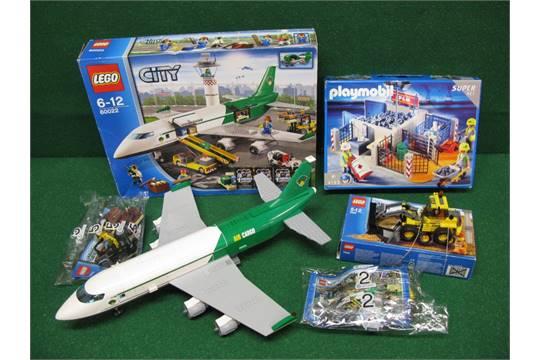 Lego Air Cargo Plant Set No 60022 Boxed Set No 7630 Loading