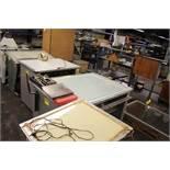 """NUARC MODEL VLT-51F 38"""" X 54"""" LIGHT TABLE"""
