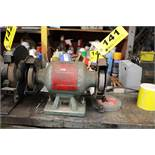 """MASTER MECHANIC 1/2 HP 6"""" DOUBLE END BENCH GRINDER"""